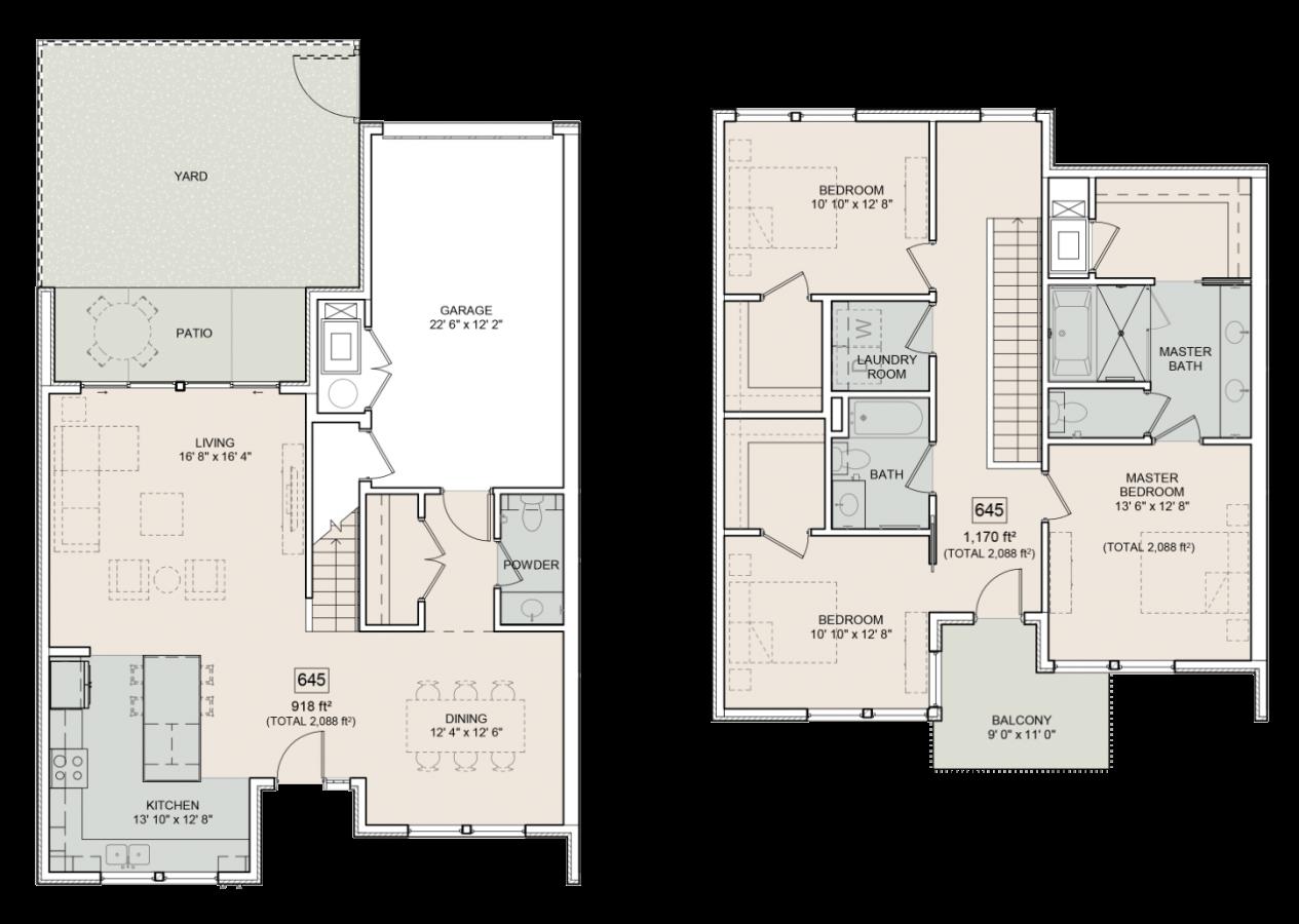 The Bower Floorplan Elliot 645