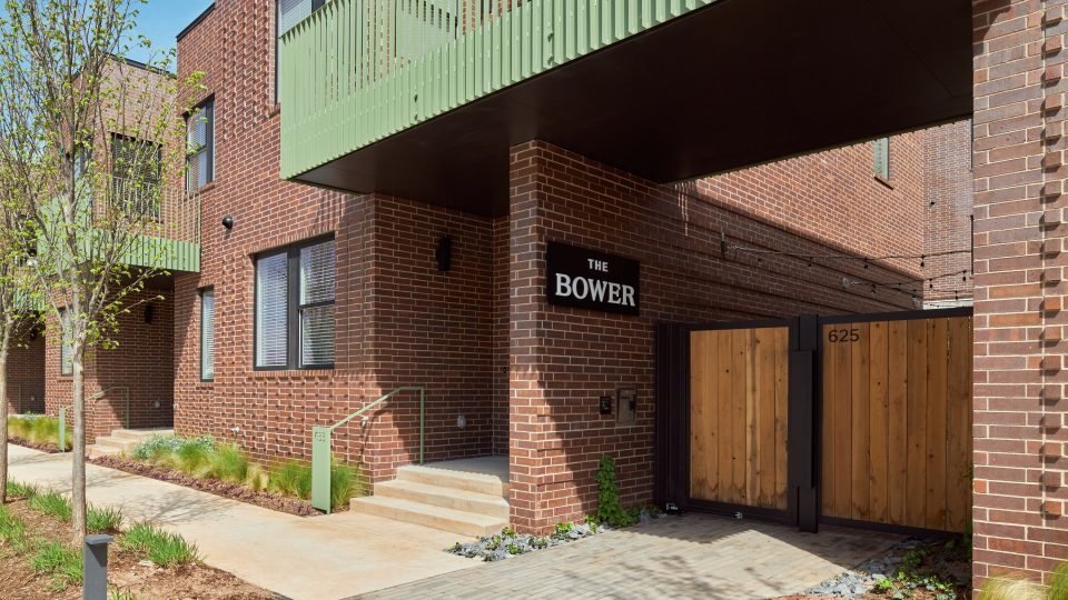 The Bower Entrance
