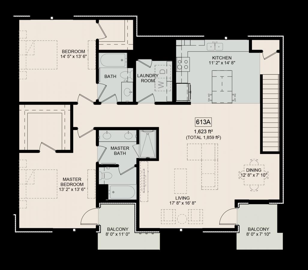 The Bower Floorplan Wynde 613